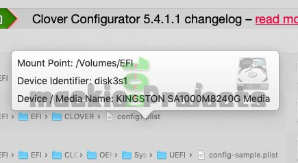 Clover Configurator | Changelog version 5 4 2 0 | mackie100 projects